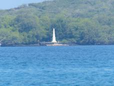 ist das Captain Cook Denkmal zu sehen
